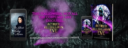 Meet Tricia Schneider @TriciaSchneider Author of A Cursed All Hallows' Eve #RLFblog #PNR #Halloween2020