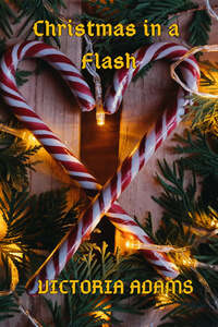 Christmas in a Flash by Daryl Devore writing as Victoria Adams @daryldevore #RLFblog #Christmasromance